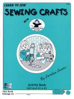 Kids Can Sew® - Sewing Crafts