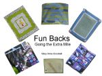 Fun Backs - Going the Extra Mile