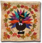 'Too Cute to Eat' Turkey Quilt